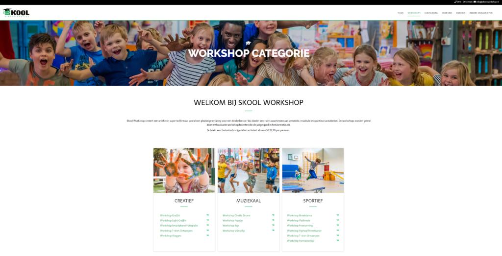 Kinderfeestjes workshops